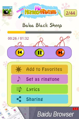 Nursery Rhymes - screenshot