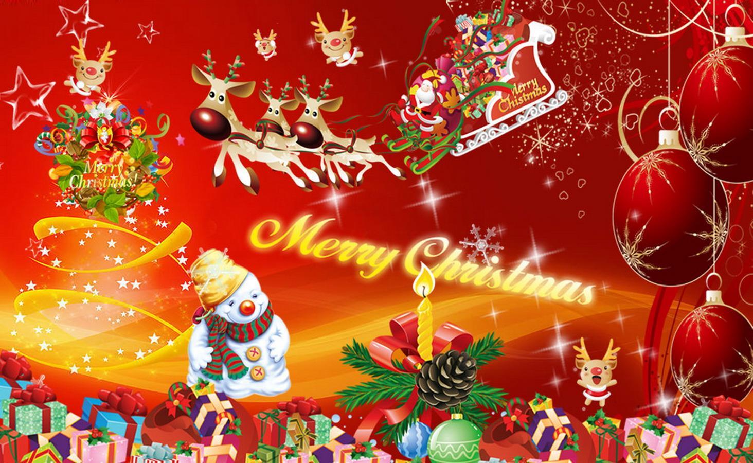 Christmas wallpaper hd for desktop - Christmas Wallpaper Screenshot
