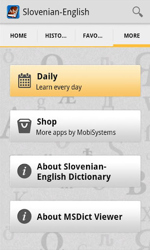 SlovenianEnglish Dictionary