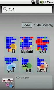 ImmGen - screenshot thumbnail
