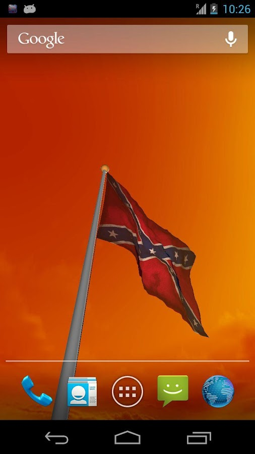 brand new real 3D Rebel Flag Live Wallpaper which you can view in ...