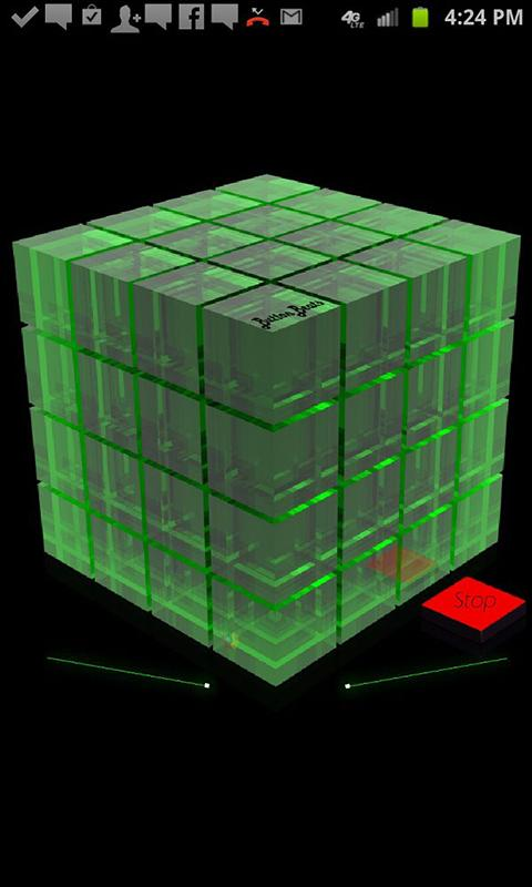 ButtonBass Dubstep Cube - screenshot