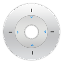 Solar Dial Clock – White logo
