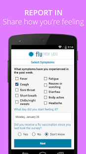 Flu Near You- screenshot thumbnail