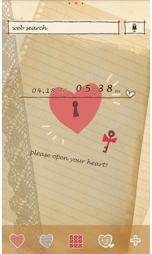 Cute Theme-Open Your Heart- 2.0.0 Windows u7528 1