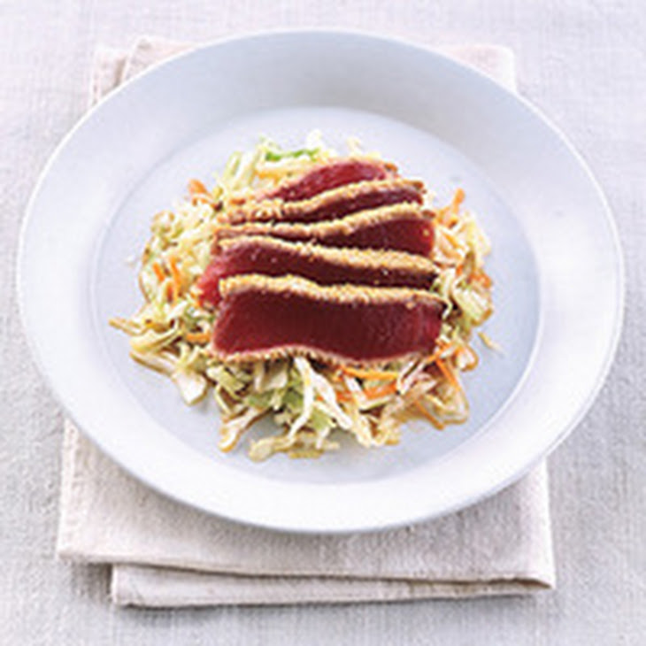 Seared Sesame Tuna Recipe