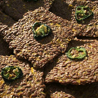 Spicy Flax Crackers.