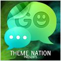 GO SMS Theme Cool Collision logo