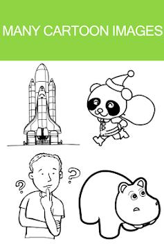 Cartoon Coloring Book Games APK 10