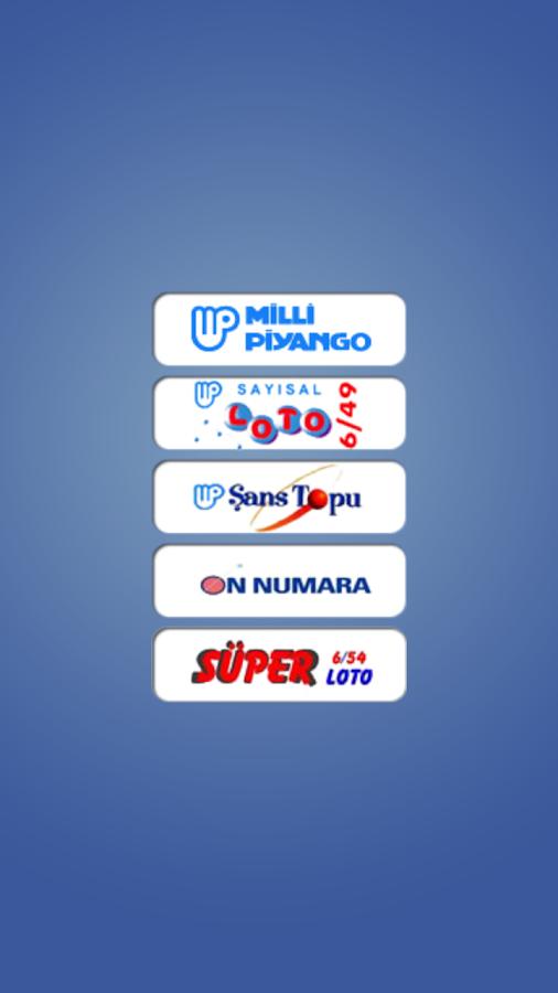 Milli Piyango Plus - screenshot