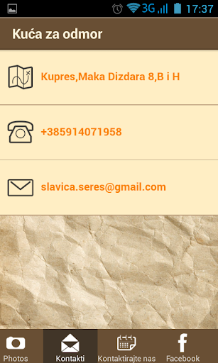 玩商業App|Kuća za odmor Slavica免費|APP試玩