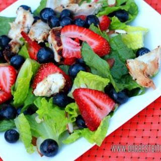 Grilled Chicken & Berry Salad.