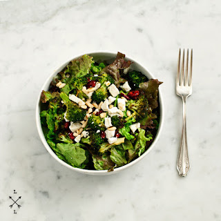 Roasted Broccoli & Cranberry Salad