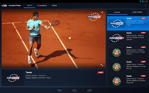 Eurosport Player - screenshot thumbnail
