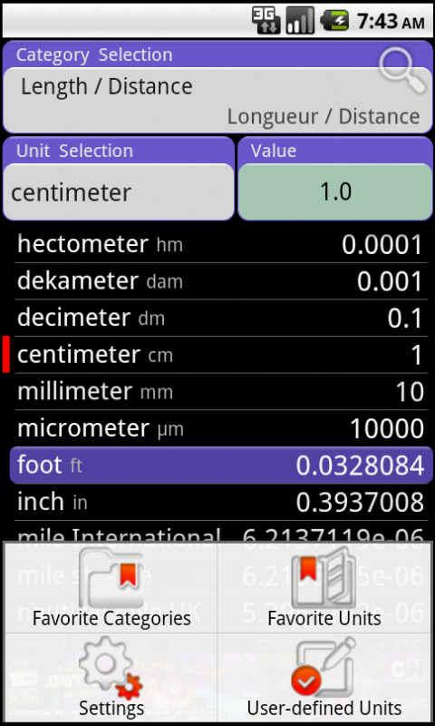 ConvertPad - Unit Converter - screenshot