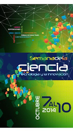 Cartel Semana de la Ciencia
