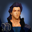 Ritik & Krish 3D Live WP icon