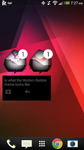 Modern Bubble - FN Theme
