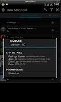 Screenshot of Null App