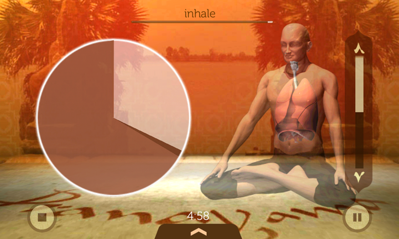 Universal Breathing: Pranayama - screenshot