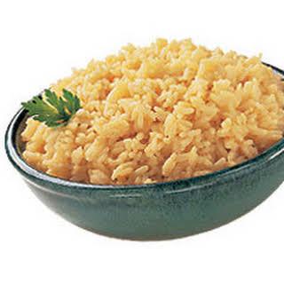 Golden Onion Rice.