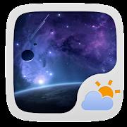 UNIVERSE THEME GO WEATHER EX 1.2 Icon