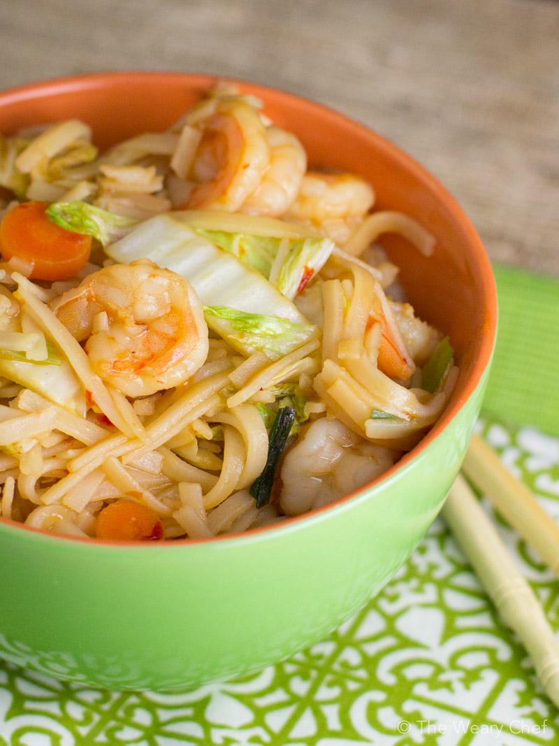 how to cook japanese rice noodles