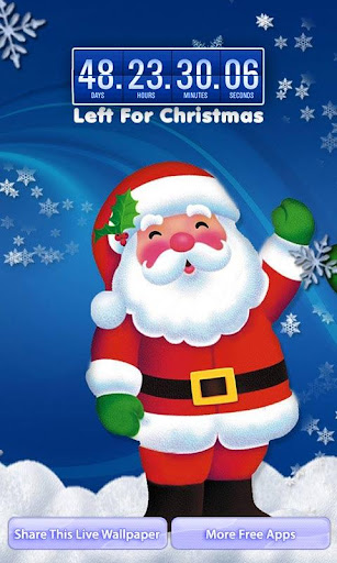 Christmas Snowfall LWP Free