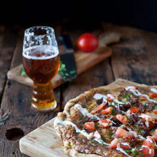 Beer Carnitas Pizza