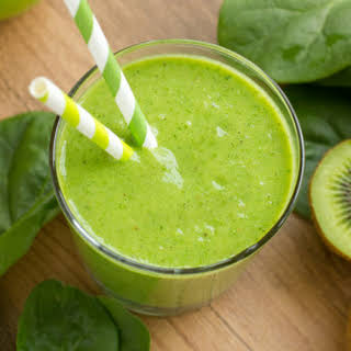 Tropical Green Monster Smoothie.