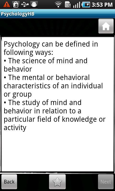 Psychology Handbook- screenshot