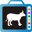 Kids Slate Domestic Animals icon
