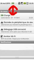 Screenshot of Battery Notif