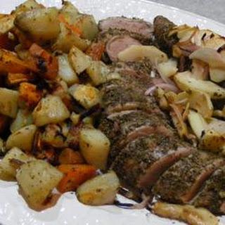 Apple Rosemary Pork Tenderloin