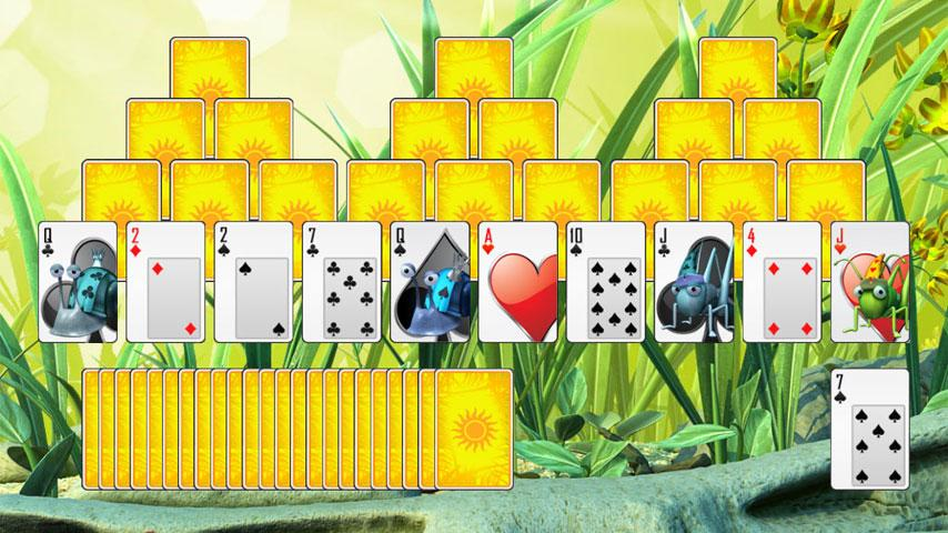 Bug Solitaire - screenshot