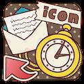 きせかえDECOR★レトロな手書き風アイコン icon