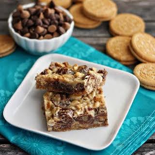 Ultimate Reese's Magic Cookie Bars.