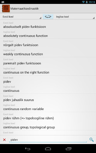 Matemaatikasõnastik