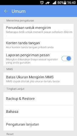 GO SMS PRO INDONESIA LANGUAGE 1.2 screenshot 274576