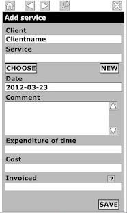 Timesheet for Billing +- screenshot thumbnail