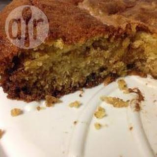 Chocolate Chip Cake.