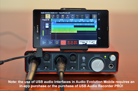 Audio Evolution Mobile Studio