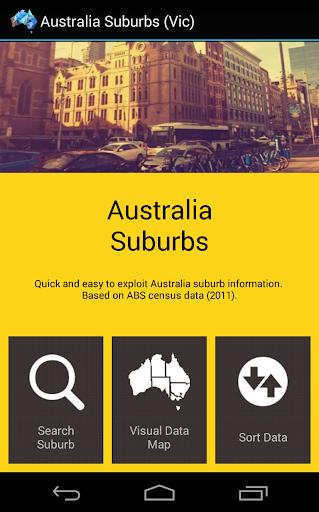 Australia Suburbs VIC