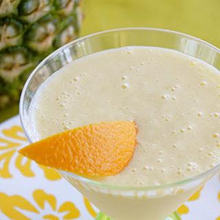 Orange-Pineapple Smoothie.