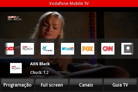 Vodafone Mobile TV - screenshot thumbnail