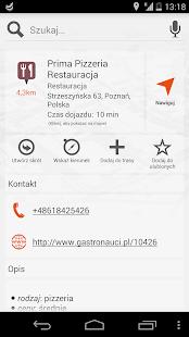 Nawigacja i mapy NaviExpert - screenshot thumbnail