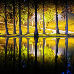 by Krishna & Garuda (Adrian Radu) - City,  Street & Park  City Parks ( mirror, reflection,  )
