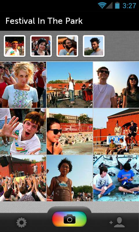 PhotoCircle - screenshot