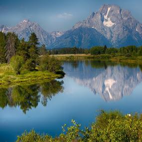GRANDTETON-3.jpg by Jim Kuhn - Landscapes Mountains & Hills