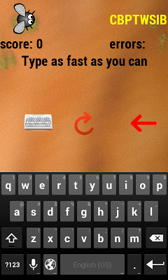 Type fast - screenshot
